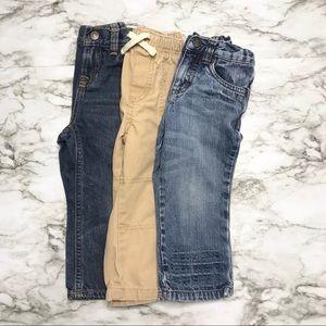 Bundle baby boy jeans